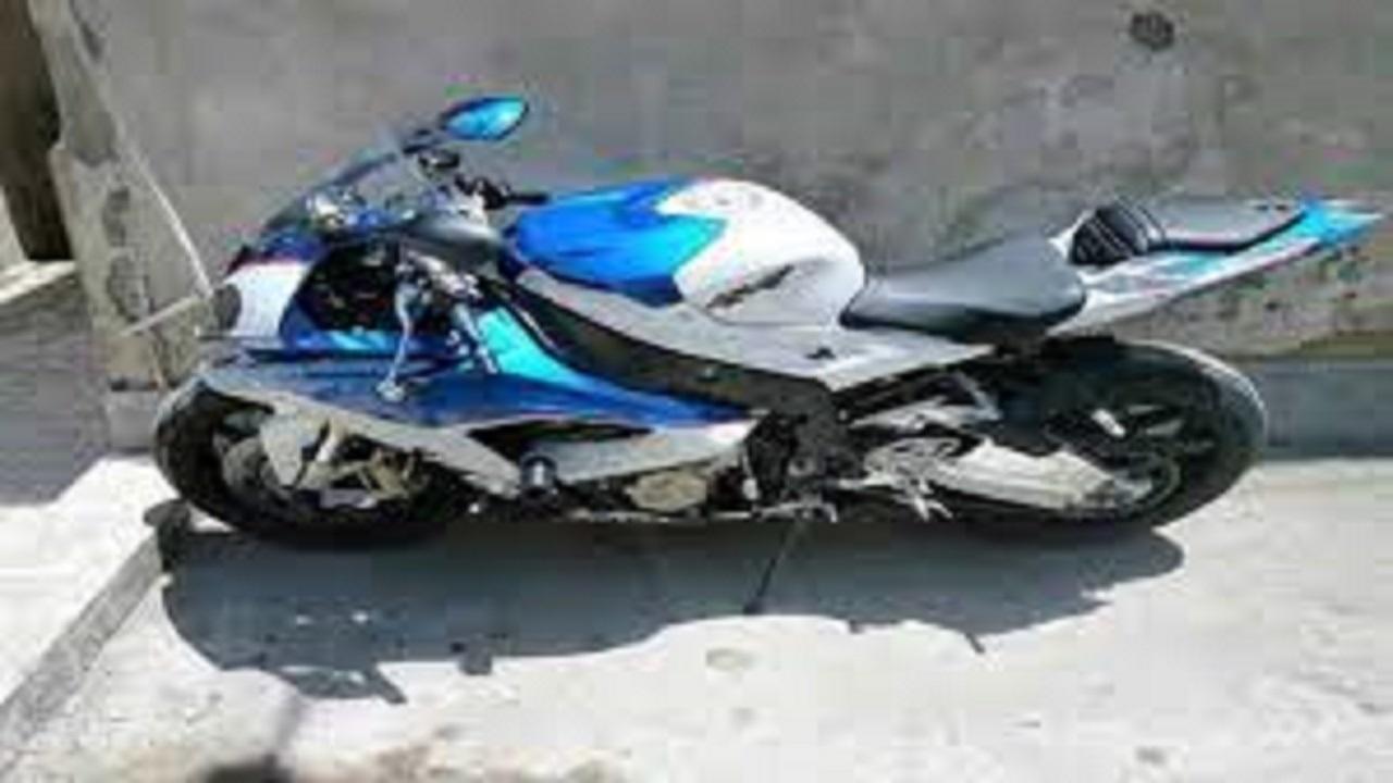 توقیف موتورسیکلت غیرمجاز در سرخه
