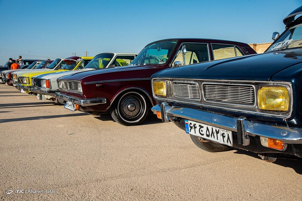 عکس/ دورهمی خودروهای کلاسیک