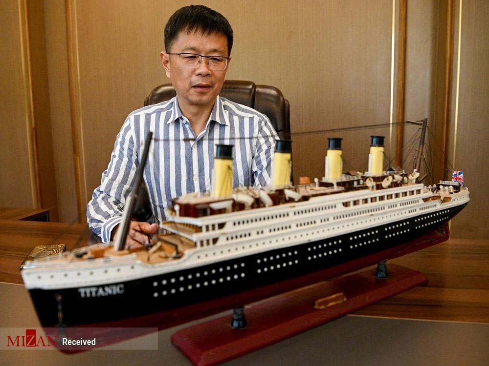 ساخت ماکت تایتانیک در چین