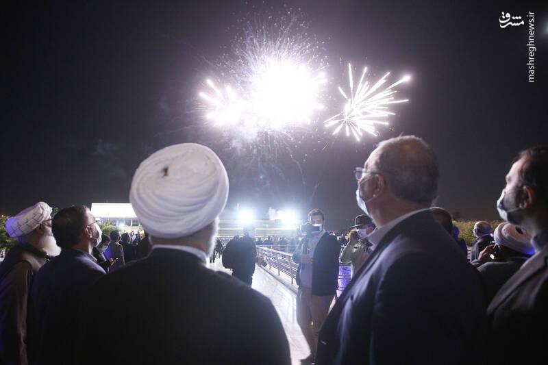 عکس/ بازدید میهمانان کنفرانس وحدت اسلامی از برج میلاد