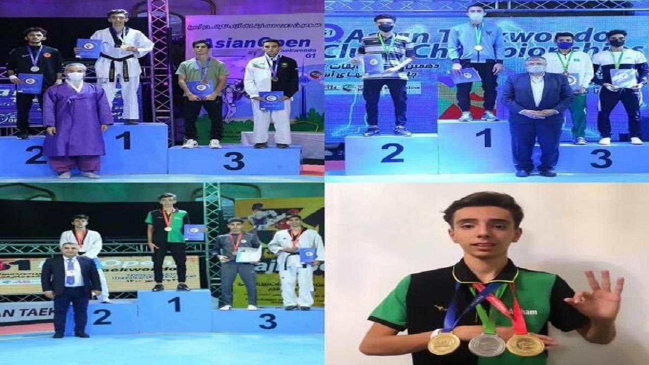 دانشآموز البرزی با ۳ مدال آسیایی خوش درخشید