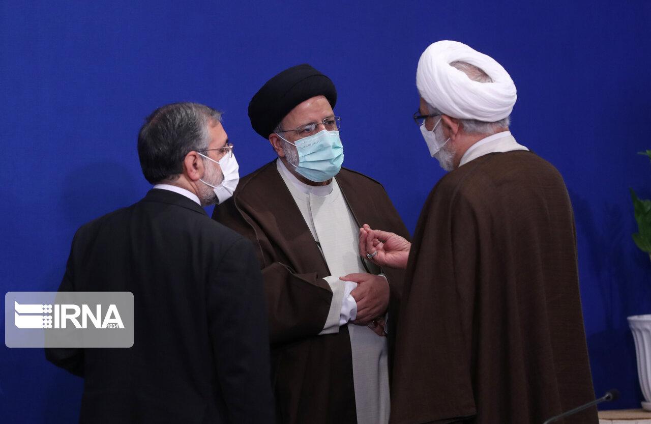 عکس/ جلسه ستاد ملی مقابله با کرونا با حضور رییسی