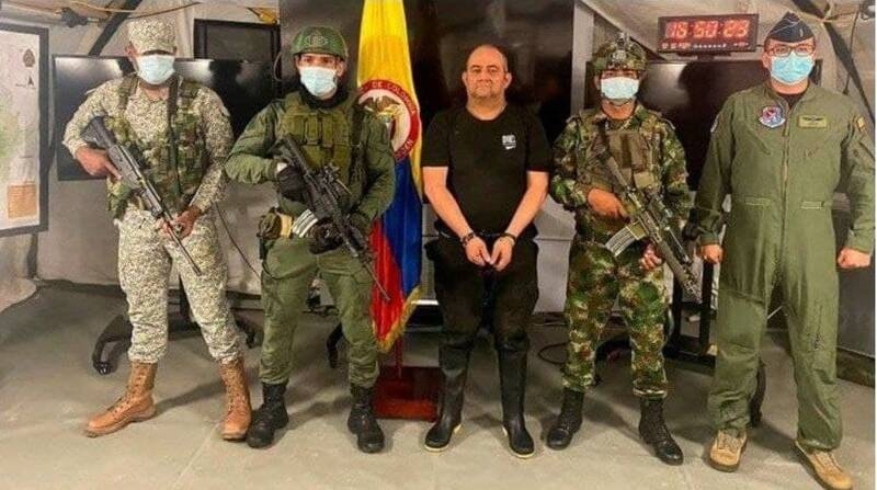 عکس/ دستگیری سردسته بزرگترین کارتل مواد مخدر کلمبیا