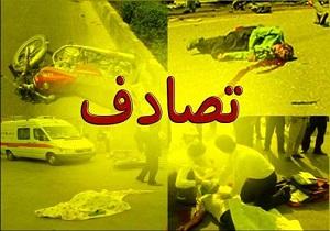 حادثه رانندگی در محور آبادان-شادگان با ۵ مصدوم