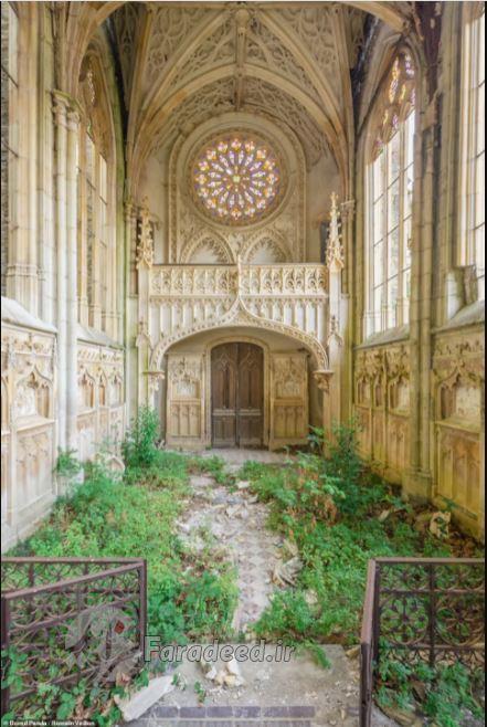 عکس/ بناهای فریبندهای که طبیعت آنها را به تملک خود درآورده است