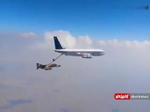سوختگیری فانتوم از بوئینگ 707
