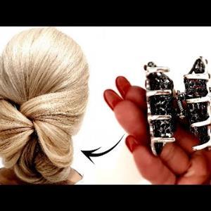 با این ترفند موهایتان را به زیبایی ببندید