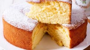 آموزش پخت حرفه ای «کیک ماست فرانسوی»