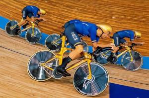 دزد دوچرخه در مسابقات قهرمانی جهان