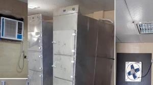 سردخانه بیمارستان شهدای خلیج فارس بوشهر مشکلی ندارد