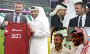 بکام با ۱۵۰ میلیون پوند سفیر جام جهانی ۲۰۲۲ قطر شد