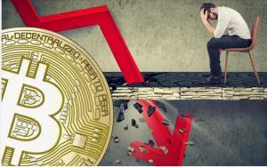 منتظر سقوط شدید قیمت بیتکوین باشید!