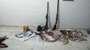 ۲ گروه از شکارچیان غیر مجاز در مراغه دستگیر شدند