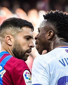 دو ستاره بارسلونا و رئالمادرید درگیر شدند