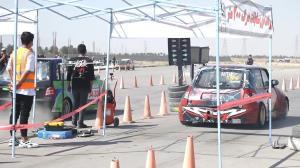 پایان رقابتهای اتومبیلرانی درگ ۲۰۰ متر آزاد کشور