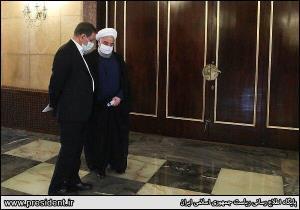 حضور روحانی و جهانگیری در دیدار امروز با رهبرانقلاب