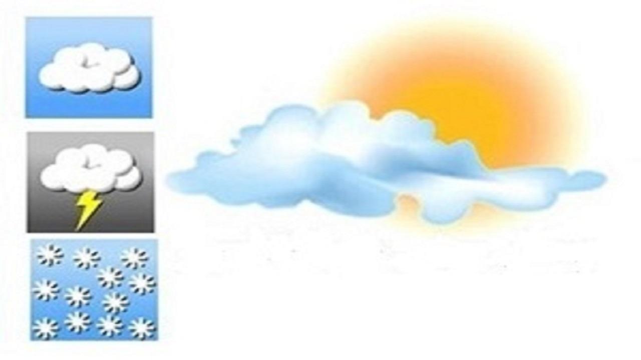 آسمان قم ابری است