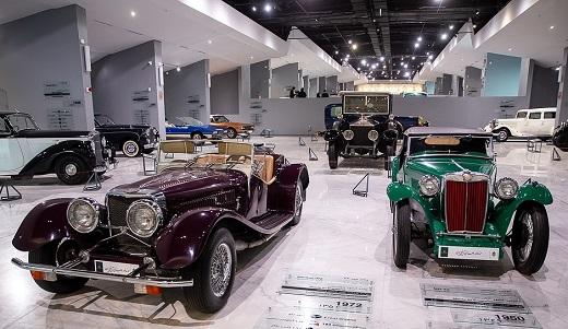 تصاویری از افتتاح موزه خودروهای تاریخی ایران