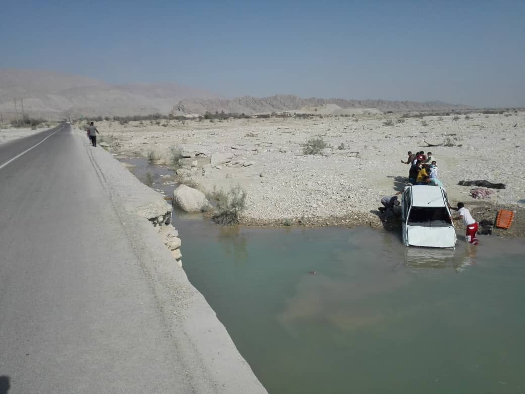 اجساد ۳ قربانی از رودخانه شور بندرعباس بیرون کشیده شد