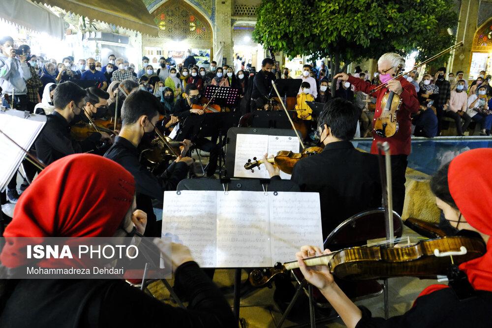 «کنسرت در شهر»؛ اجرای موسیقی رایگان در شیراز