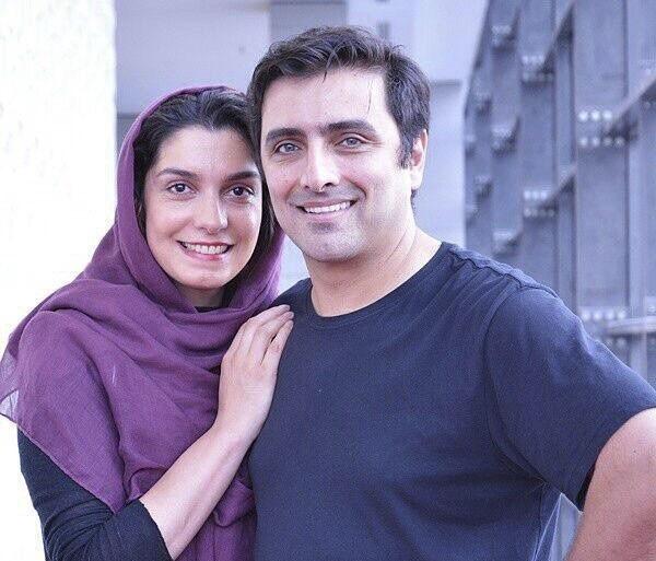 چهرهها/ الیکا عبدالرزاقی و همسرش در افتتاحیه سالن زیبایی اش