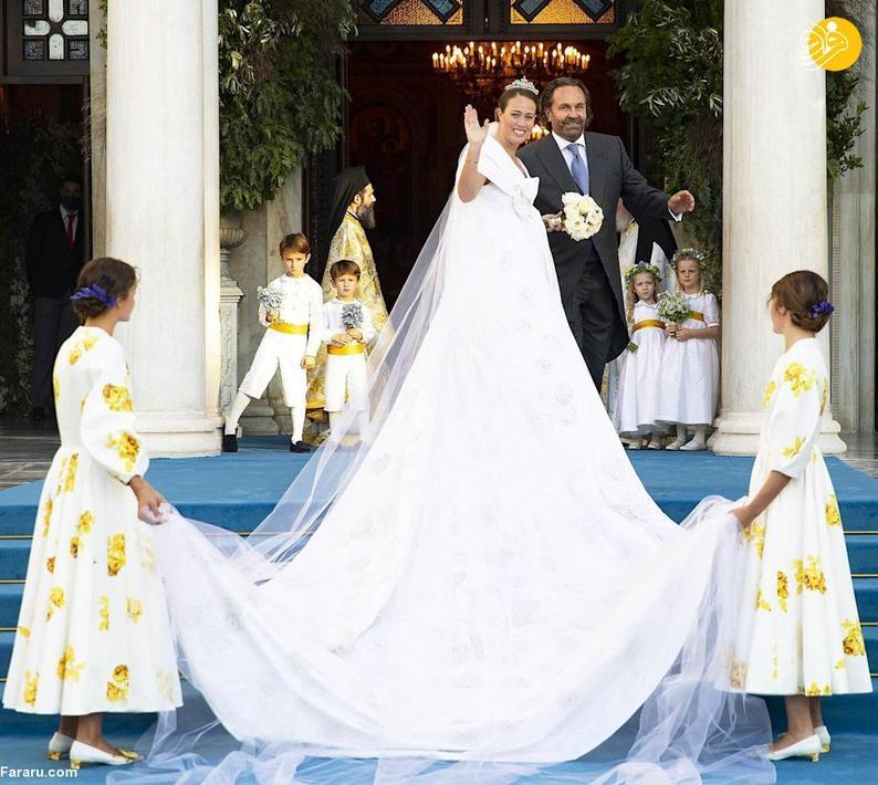 مراسم جشن عروسی پسر پادشاه یونان