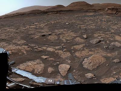تصویر 360 درجه ای از مریخ