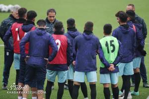 ترکیب تیم امید مقابل نپال مشخص شد