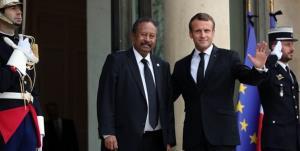 ماکرون آزادی فوری نخستوزیر سودان را خواستار شد