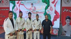 نایب قهرمانی بوشهر در مسابقات جودوی قهرمانی کشور