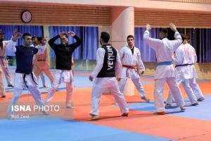 اعلام ترکیب تیم ملی کاراته در رقابتهای قهرمانی جهان