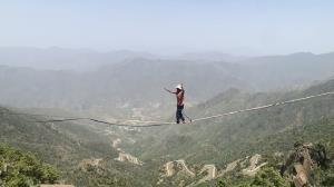 4گوشه دنیا/ شهری که همه در آن استاد راه رفتن روی طناب هستند