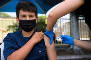 ۶۸ درصد دانشآموزان در البرز واکسینه شدند