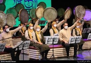 اجرایی از جشنواره دف نوازان در مدح رسول اکرم (ص)