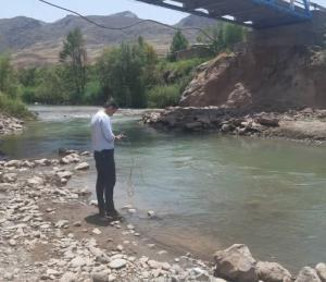 رودخانههای قزوین توسط کارشناسان محیط زیست رصد و پایش شدند