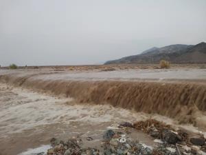خسارت طوفان و سیلاب به محورهای مواصلاتی در فاریاب
