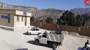 حمل جنازه یک زن با خودروی زباله