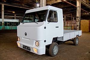اولین کامیون برقی با ظاهری عجیب در قرقیزستان به تولید رسید