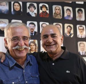 چهرهها/ قاب دو نفره عبدالله اسکندری با پرویز پرستویی