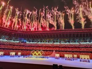 اهدای جایزه به بهترینها در المپیک ۲۰۲۰ توکیو