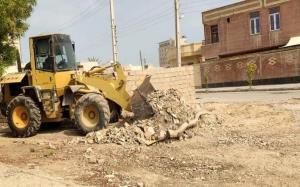 طرح ضربتی پاکسازی مناطق شهری آبادان از زباله آغاز شد