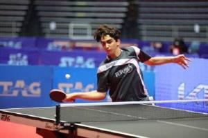 حضور تنها یک ایرانی در مسابقات جهانی تنیس روی میز جوانان