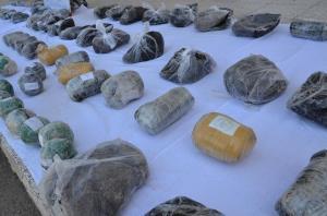 افزونبر یک تن انواع مواد مخدر در سیستانوبلوچستان کشف شد