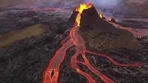ویدئویی هولناک از فوران های جدید آتشفشان در جزیره لاپالما
