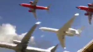 تایم لپسی جالب از پروازهای فرودگاه سن دیگو