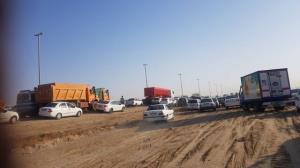 ترافیک روان در محور بوشهر به چغادک
