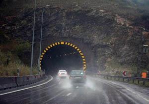 هشدار پلیس راه درباره لغزندگی جادههای کوهستانی مازندران