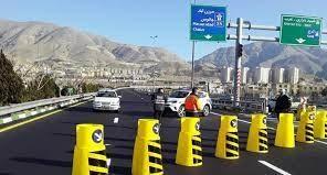 آزادراه تهران-شمال امشب باز میشود