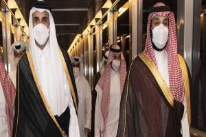 سفر امیر قطر به عربستان
