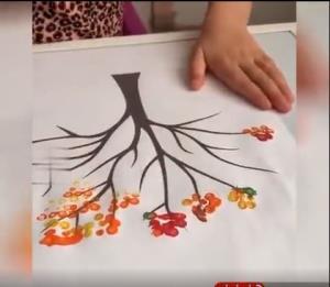 ایده ساده و جذاب برای ساخت یک اثر هنری